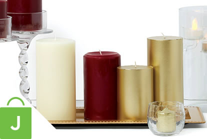 Hudson 43 Candle and Light Collection.