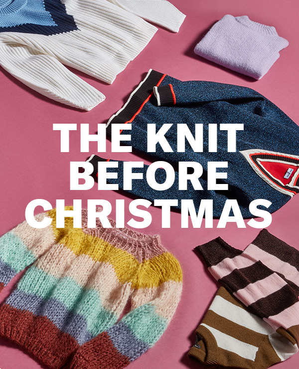 The Knit Before Christmas - Lurex! Stripes! Fair Isle! Seasons greetings come in the form of our favorite new sweaters.