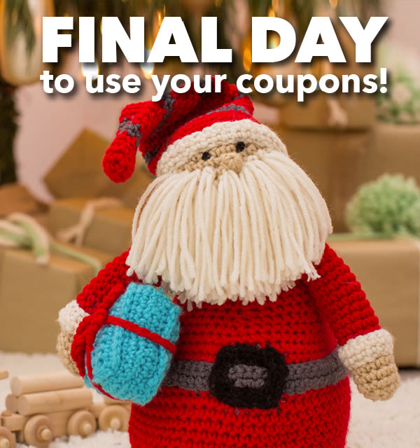 Final Day to Shop and Save.