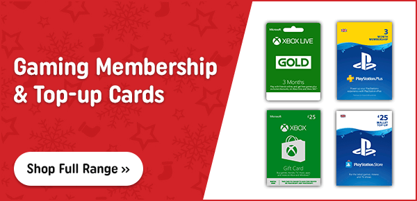 Gaming Membership and Top-Up Cards