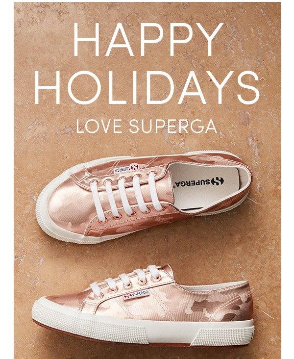 Happy Holidays, Love Superga