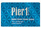 Pier 1 Rewards card