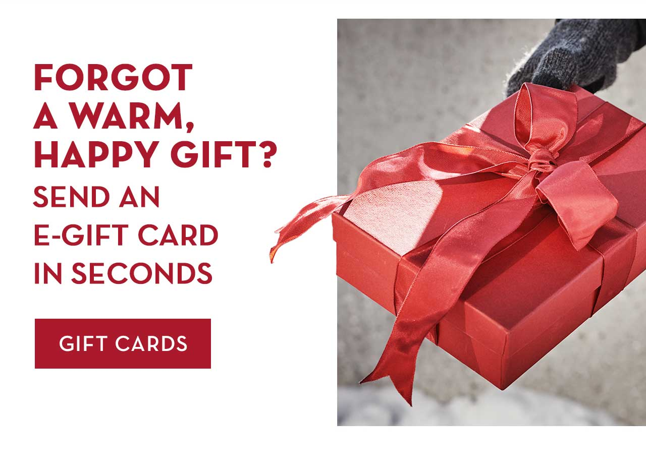 Forgot A Warm, Happy Gift? Send An E-Gift Card In Seconds Gift Cards