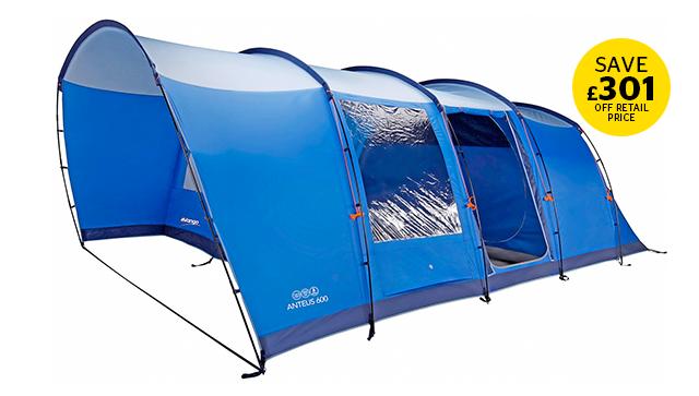 Vango Anteus 600 Family Tent Bundle deal
