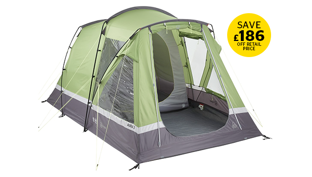 Hi Gear Aura 3 Family Tent Bundle deal