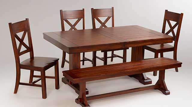 Save 60% Verona Mahogany Dining Collection