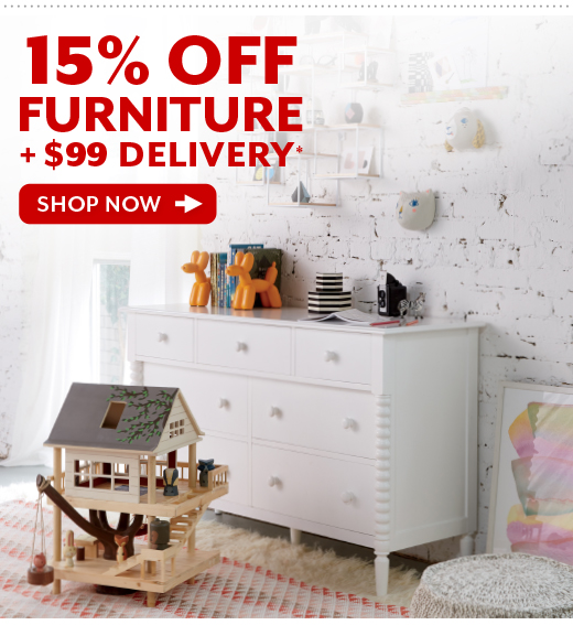 Shop 15% OFF Furniture Plus $99 Delivery