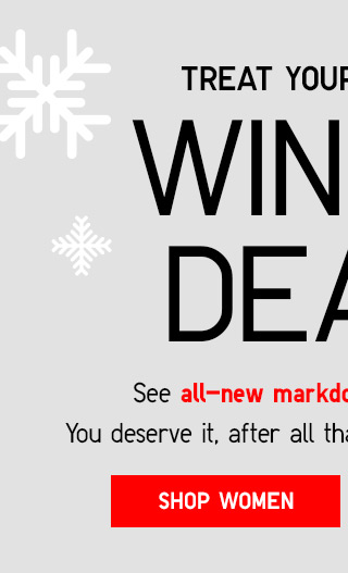 WINTER DEALS - SHOP WOMEN