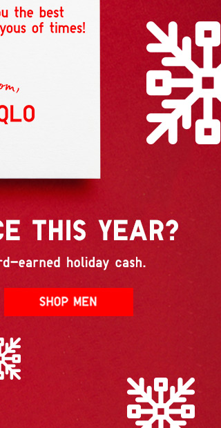 Season's Greetings - SHOP MEN