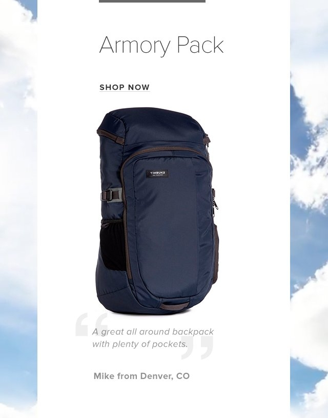 Armory Backpack Shop Now
