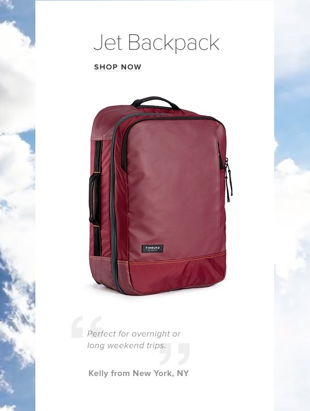 Jet Backpack Shop now