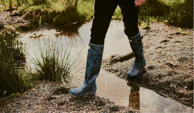 Wearing Hunter for your winter walk?