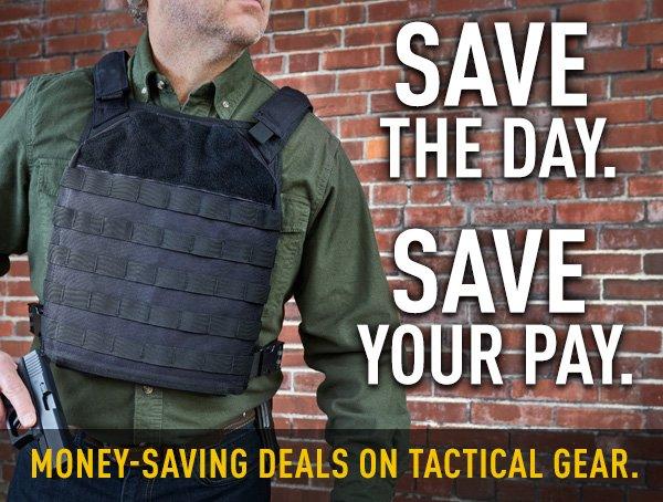 Money-Saving Deals On Tactical Gear.