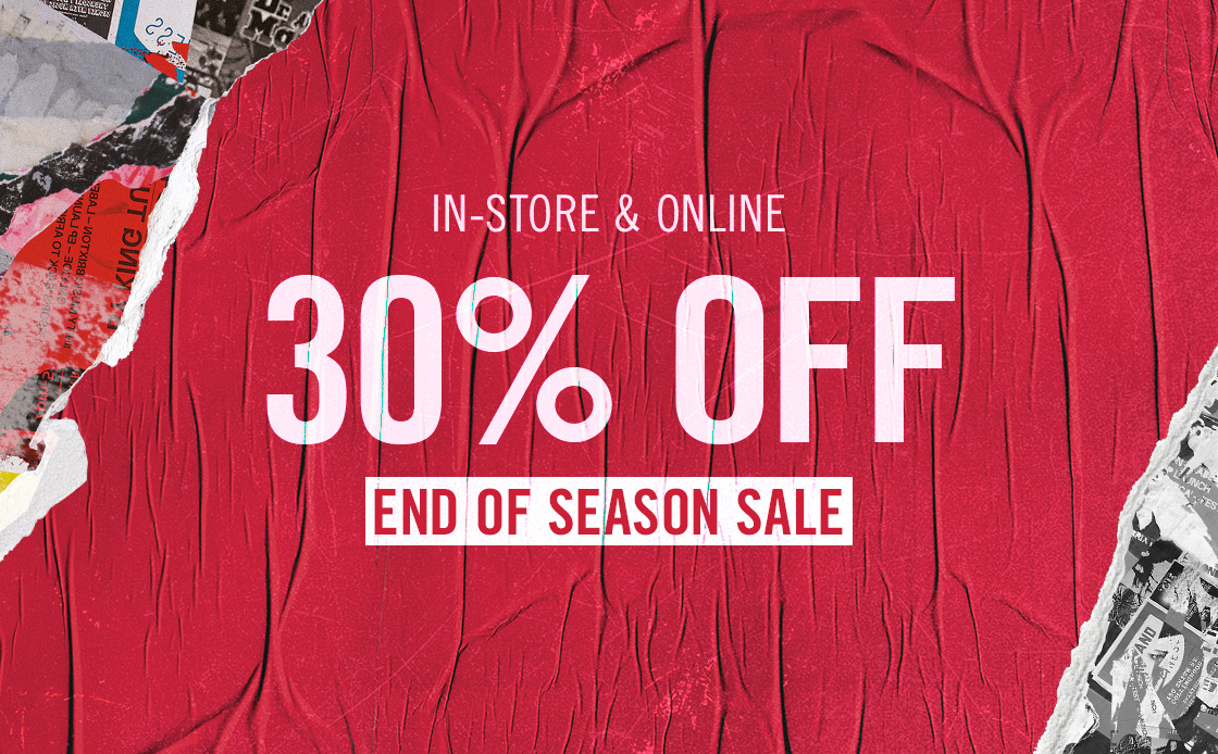 End of Season Sale starts now!