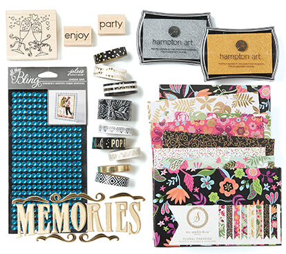 Cardmaking, Stamping, Stickers and Embellishments.