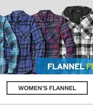 FLANNEL | SHOP WOMEN'S FLANNEL