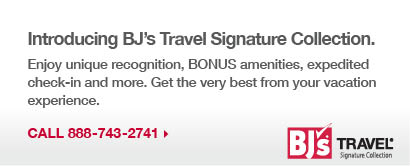 Introducing BJ's Travel Signature Collection