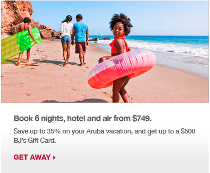 Book 3 nights, hotel and air from $609