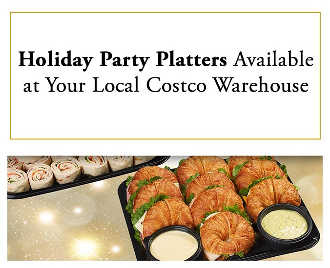 Costo New Year Savings On Electronics Plus King Crab And Holiday Platters At Your Local Costco Warehouse