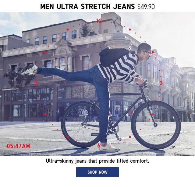 MEN ULTRA STRETCH JEANS