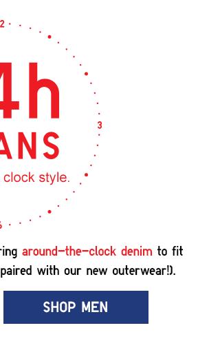 AROUND THE CLOCK DENIM - SHOP MEN