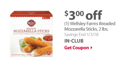 WF Mozzarella Sticks