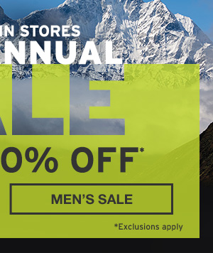UP TO 60% OFF | SHOP MEN'S SALE