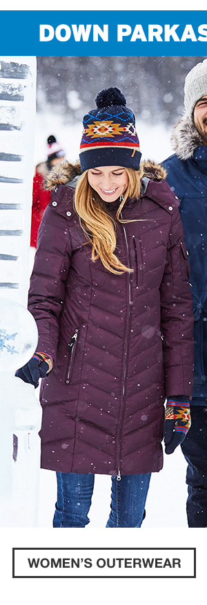 DOWN PARKAS FROM $99.99 | SHOP WOMEN'S OUTERWEAR