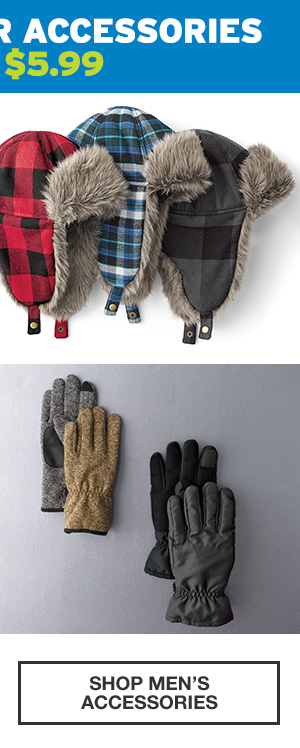 COLD-WEATHER ACCESSORIES | SHOP MEN'S ACCESSORIES