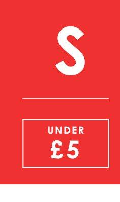 Sale under 5