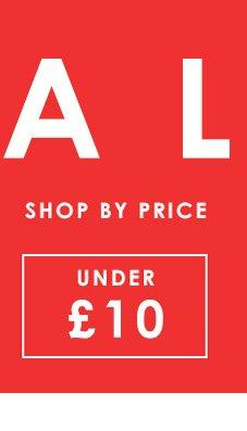 Sale under 10