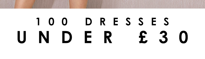 Dresses under 30