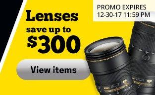 Nikon Lenses Save Up To $200