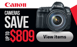 Canon cameras Save Up To $809