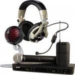Wireless Systems, Microphones & Earphones