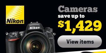 Nikon Cameras Save Up To $1,429