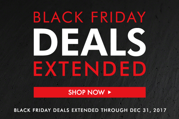 Black Friday Deals Extended