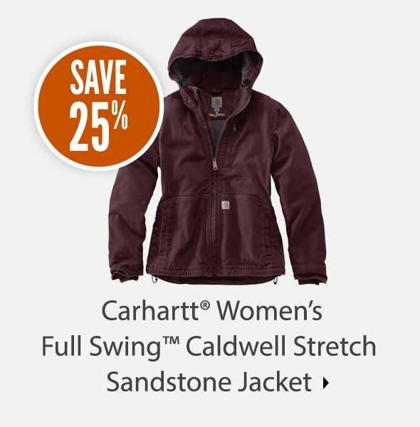 Carhartt Women's Full Swing Caldwell Stretch Sandstone Jacket