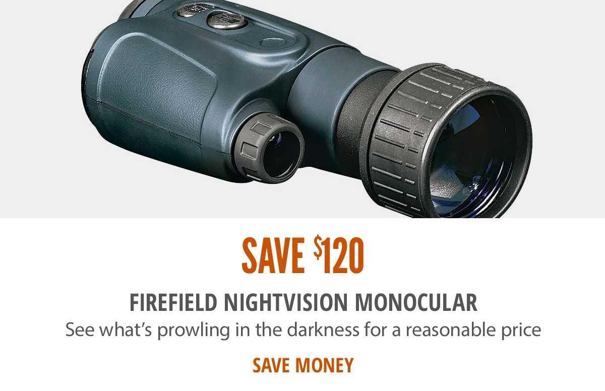 Save $150 on Night Vision