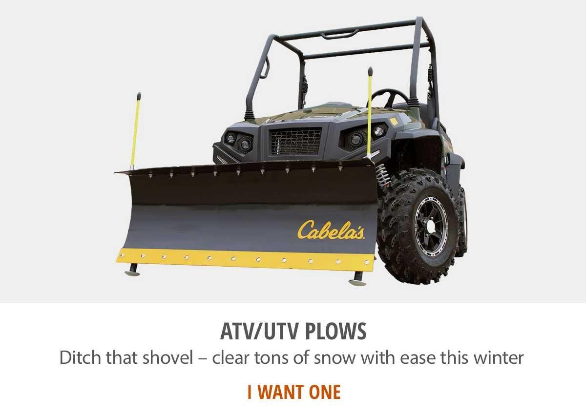 ATV/UTV Snow Plows