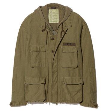 R13 Hooded Abu Jacket $795