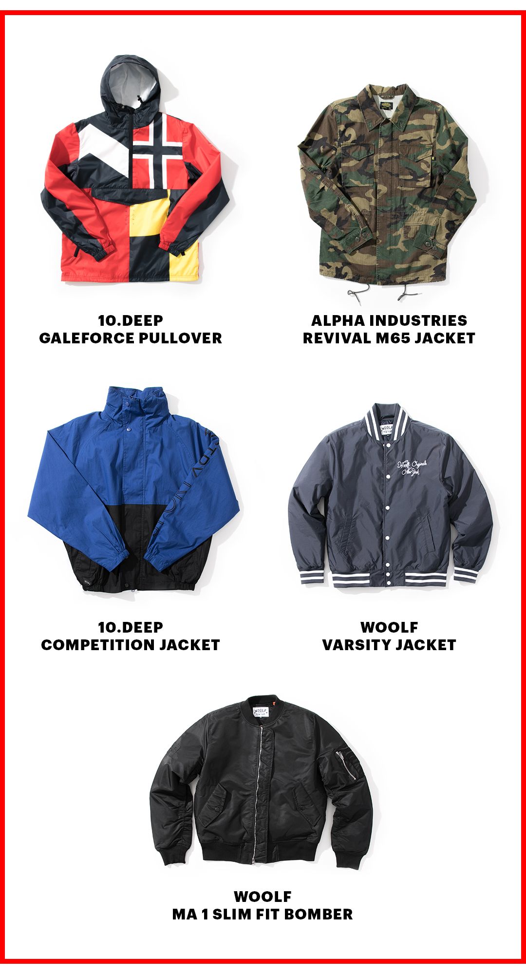 The Top 5 Jackets Of 2017