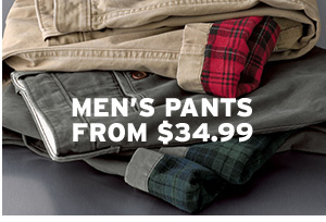 MEN'S PANTS | SHOP MEN'S PANTS