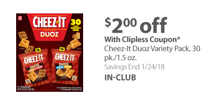 Cheez-It Duoz Variety pack