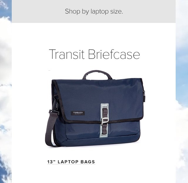 Transit Briefcase - shop 13in laptop bags