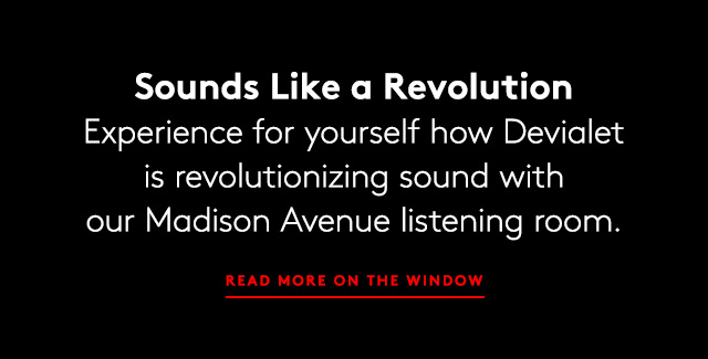 Introducing Devialet sound systems?where design and technology intersect..