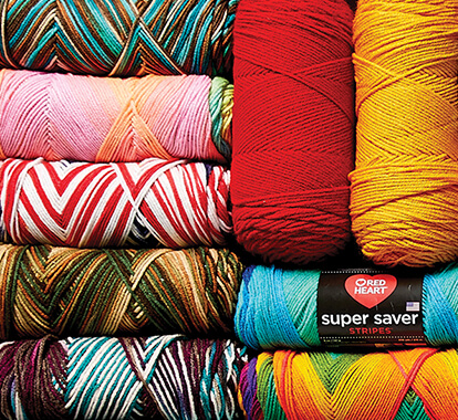 Red Heart Super Saver.