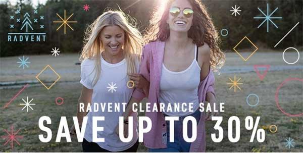Radvent Clearance Sale
