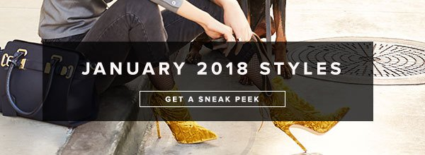 SNEAK PEAK JANUARY