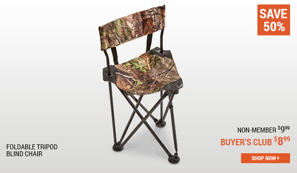 Foldable Tripod Blind Chair